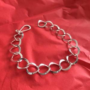 Oval Silver Bracelet